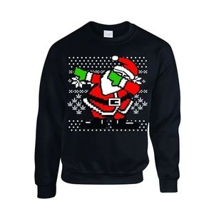 Christmas dab sweater